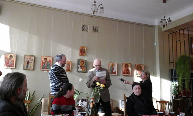 Юбилей Н. А. Зонтикова