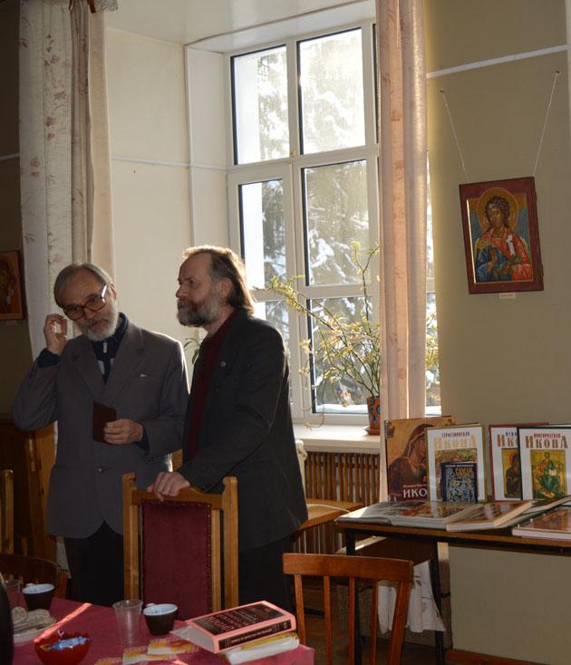 Е.Б. Шиховцев и Б.В. Ткаченко