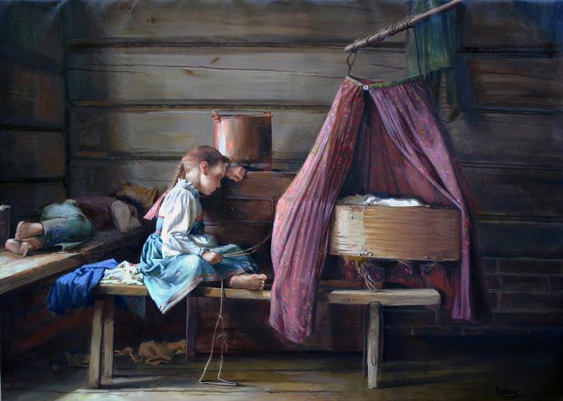 Деревянное жилище славян