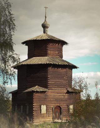 Деревянная часовня из Притыкино
