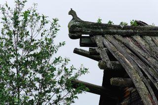 Оформление крыши. Юмиж Верхнетоемского района.