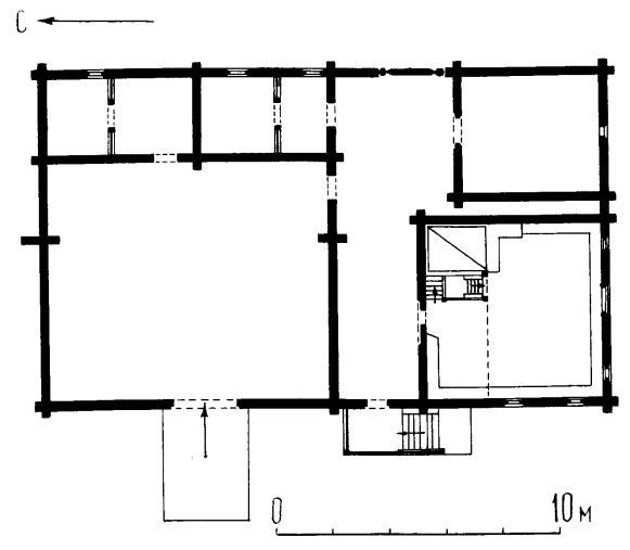 План основного этажа